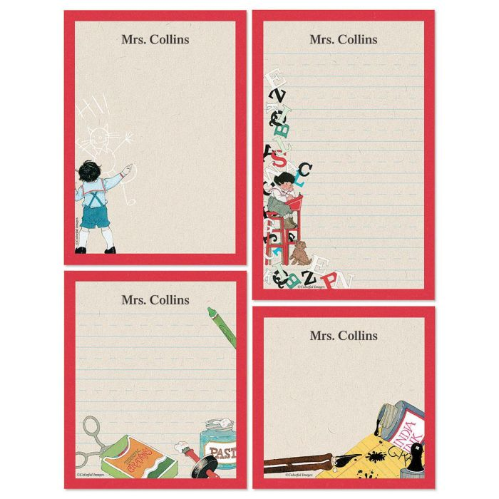 Back to School Memo Pad Sets