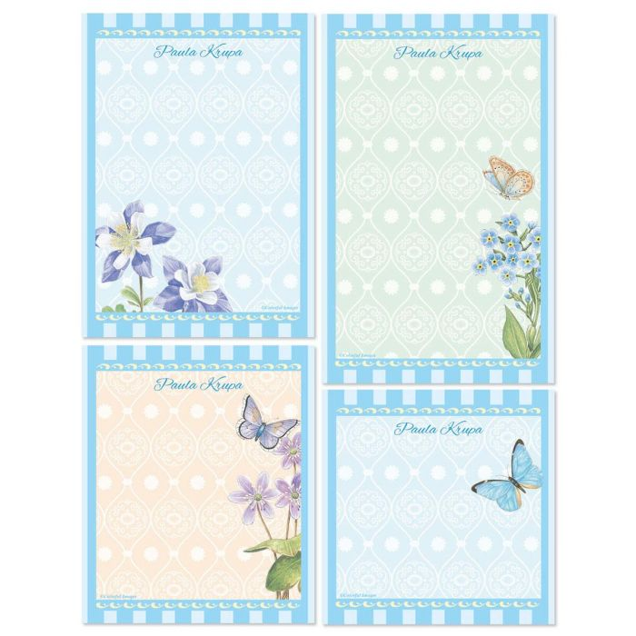 Tapestry Personalized Stationery Memo Set