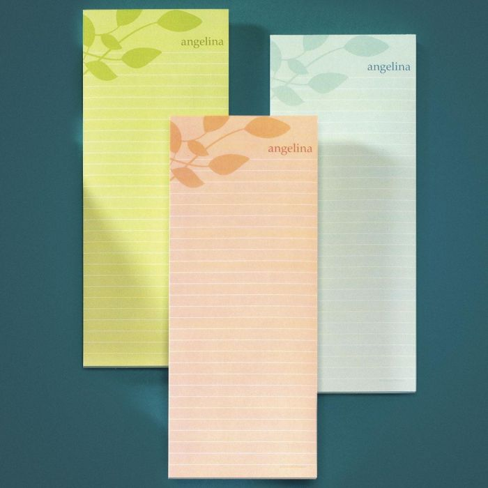 Sage Advice Lined Memo Pads (3 Colors)