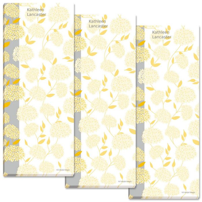 Vintage Personalized Memo Pads