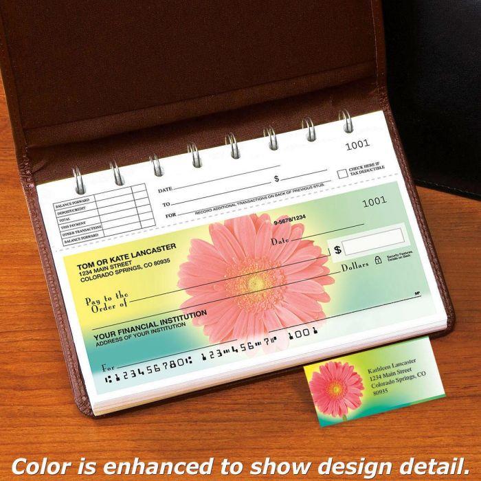 Illuminated Petals Top-Stub Single Checks