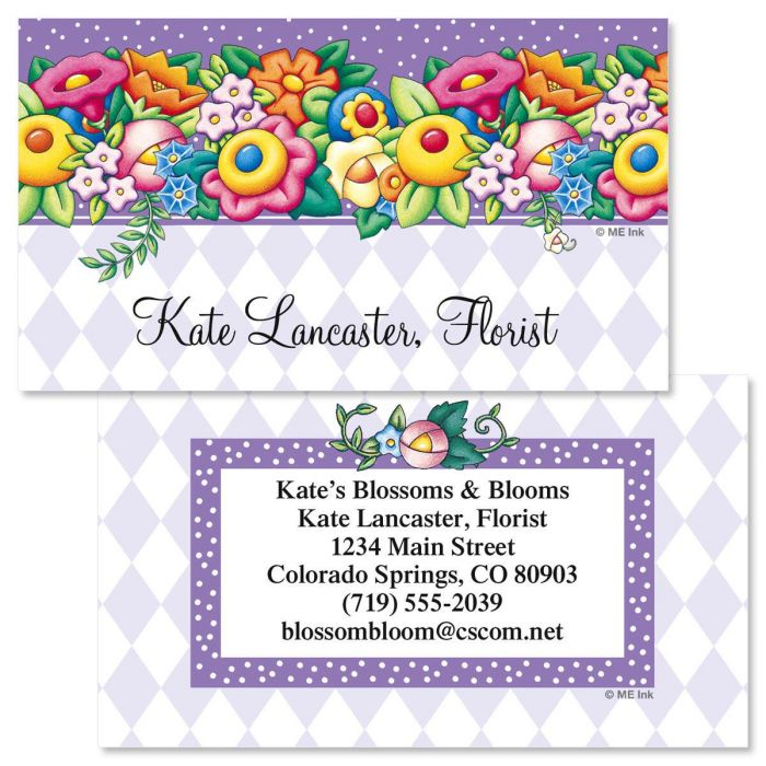 Mary Engelbreit® Blossom Two-Sided Calling Card