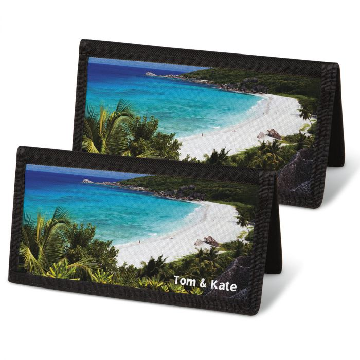 Tropical Paradise II  Checkbook Covers
