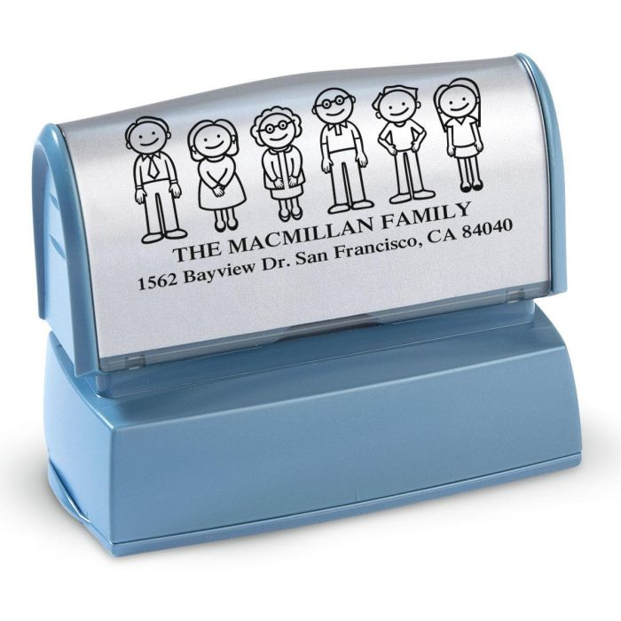 Our Family Self-Inking Large Stamper
