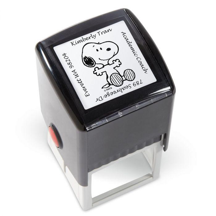 PEANUTS® Square Self-Inking Stamper