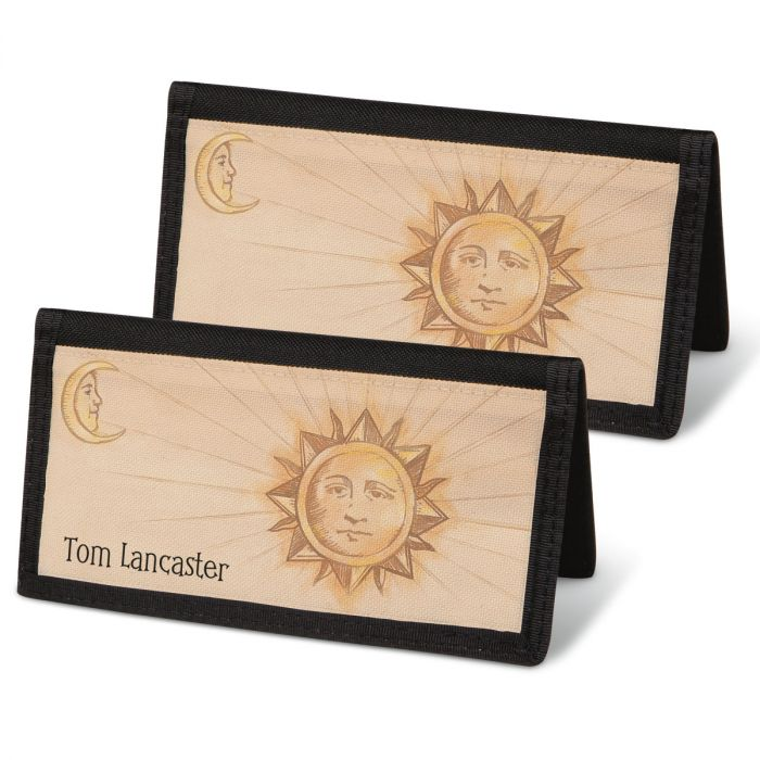 Sun and Moon  Checkbook Covers