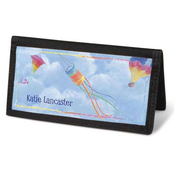 Bright Skies  Checkbook Cover - Personalized