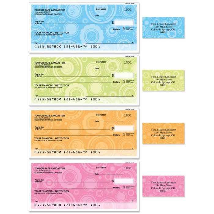 Ultra Chic Duplicate Checks With Matching Address Labels