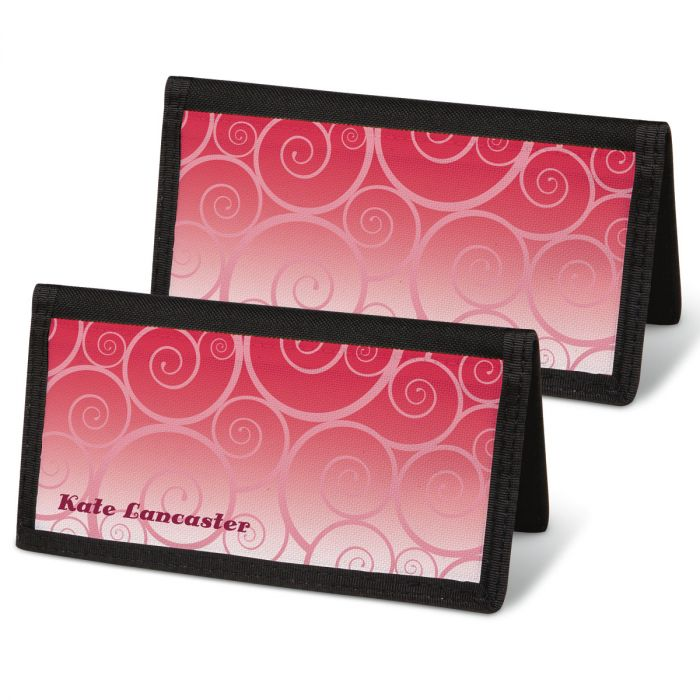Swirly Girly  Checkbook Covers