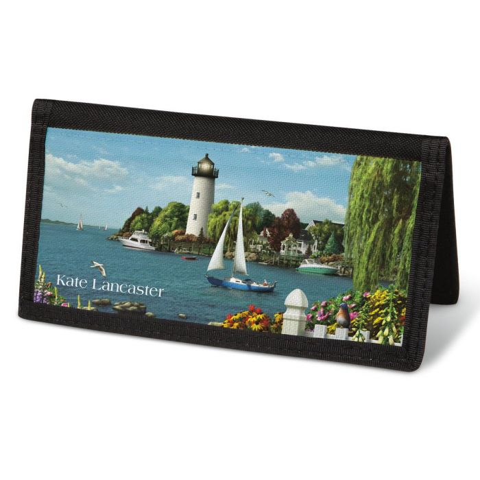 Splendid Lighthouses  Checkbook Cover - Personalized