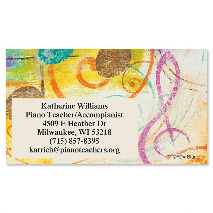Take Note Standard Calling Card