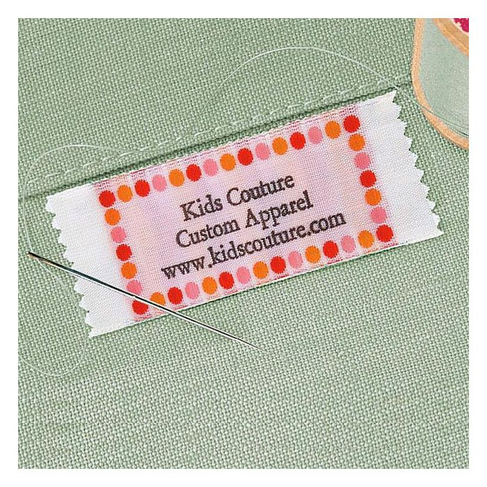Hot Dots Sewing Label