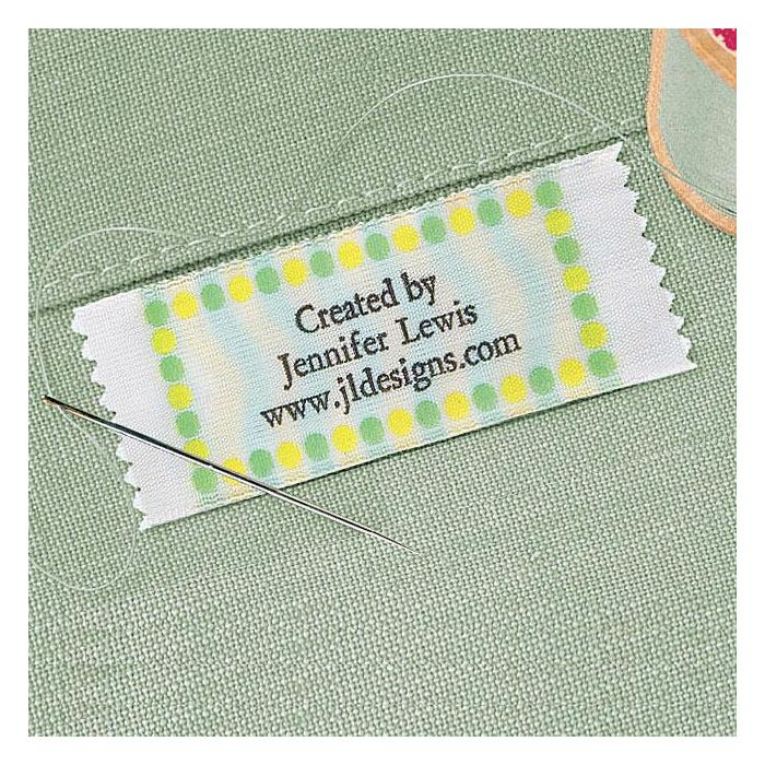 Pastel Dots Sewing Label