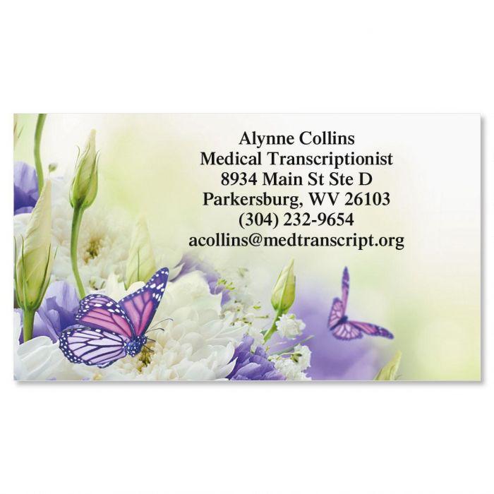Butterfly Standard Calling Card