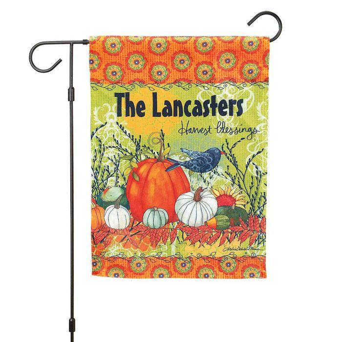 Harvest Blessing Fall Garden Flag