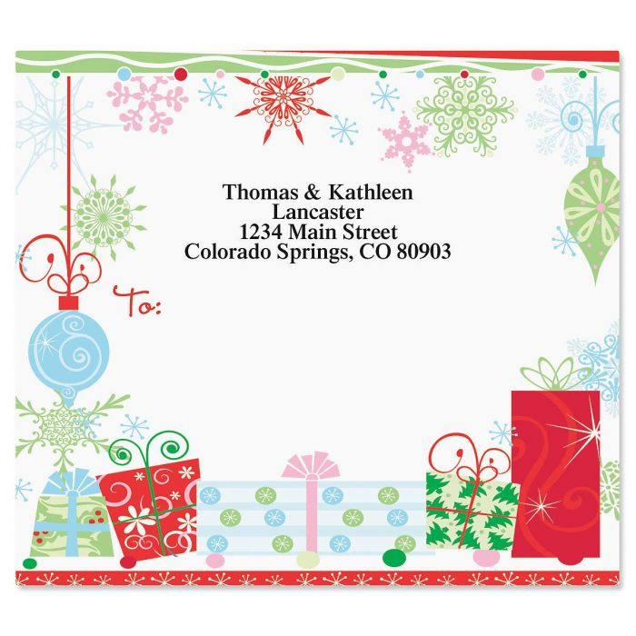 Twinkles Mailing Package Label