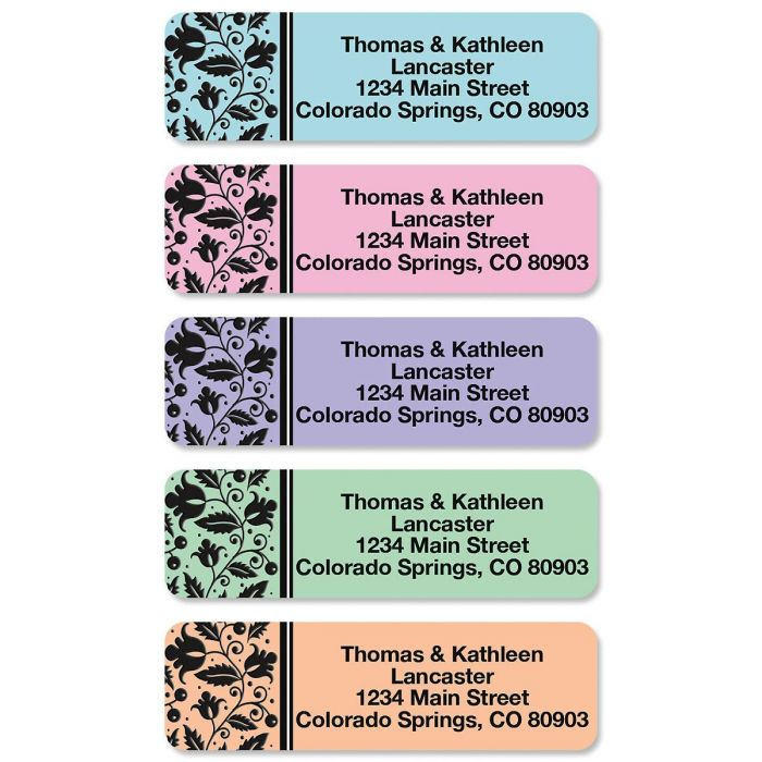 Imperial Rolled Address Labels  (5 Designs)
