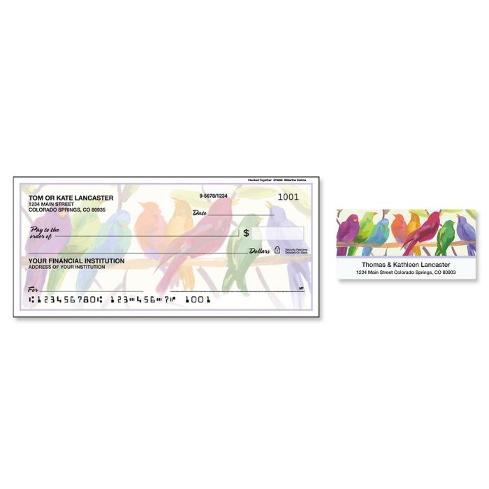 Flocked Together Duplicate Checks with Matching Labels