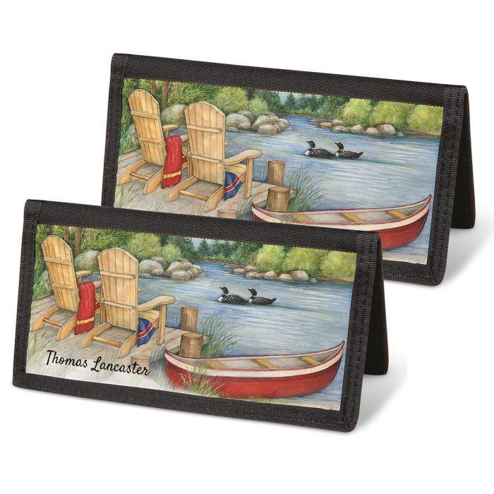 Lakeside Checkbook Covers