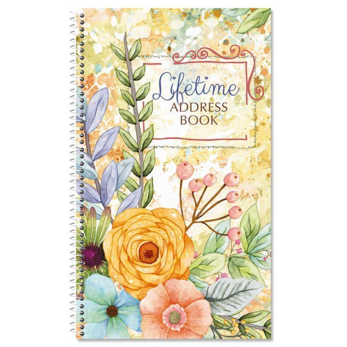 Sentiment Garden Lifetime Address Book
