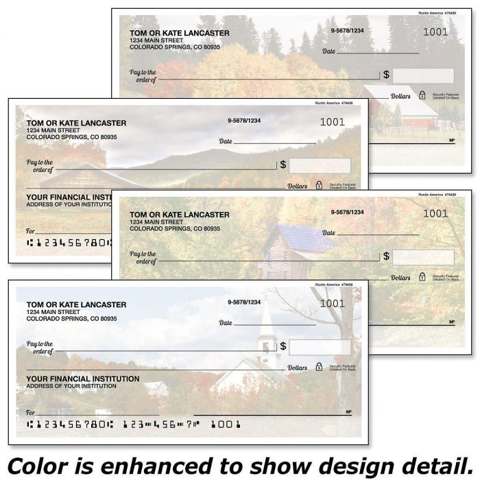 Rustic America Duplicate Checks