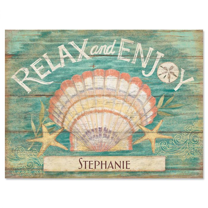 Seas the Day Custom Note Cards