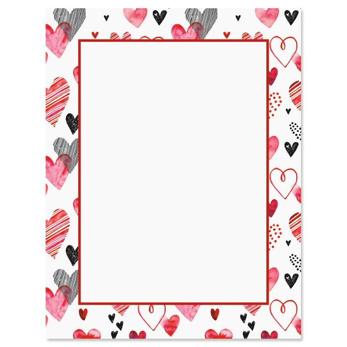 Loads of Love Valentine's Day Letter Papers
