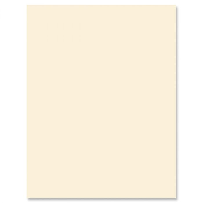 Cream Letter Papers