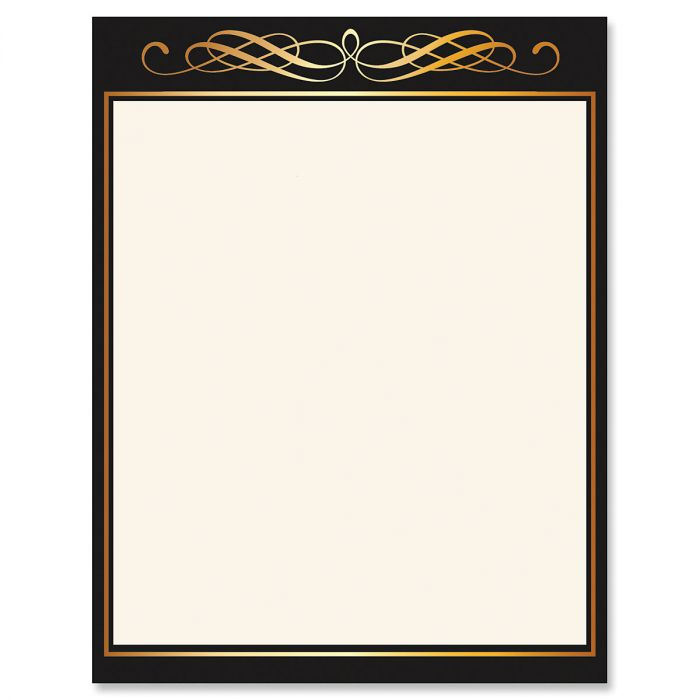 Calligraphy Frame Celebration Letter Papers