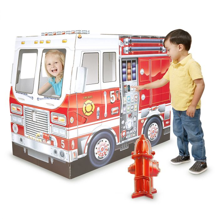 Fire Truck Indoor Playhouse by Melissa & Doug®