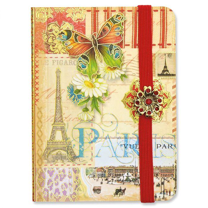 Paris Patchwork Pocket Notepad