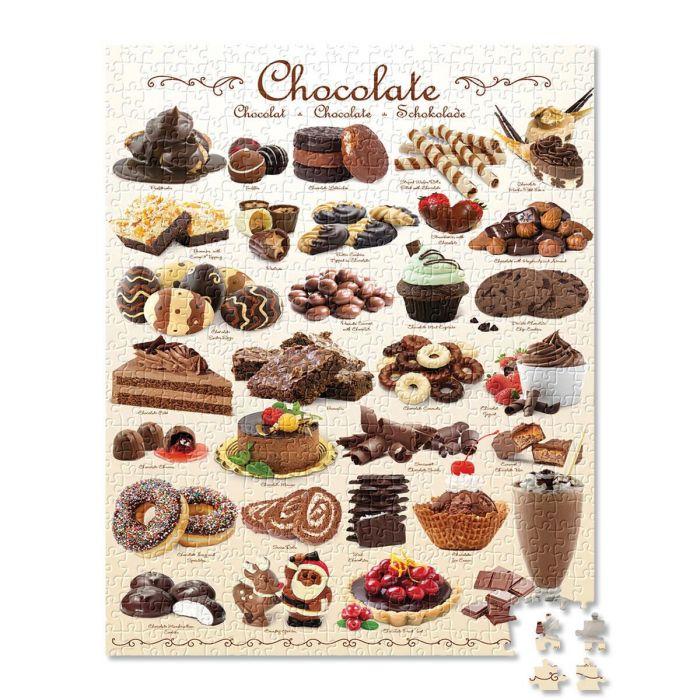 1,000-Piece Chocolate Puzzle