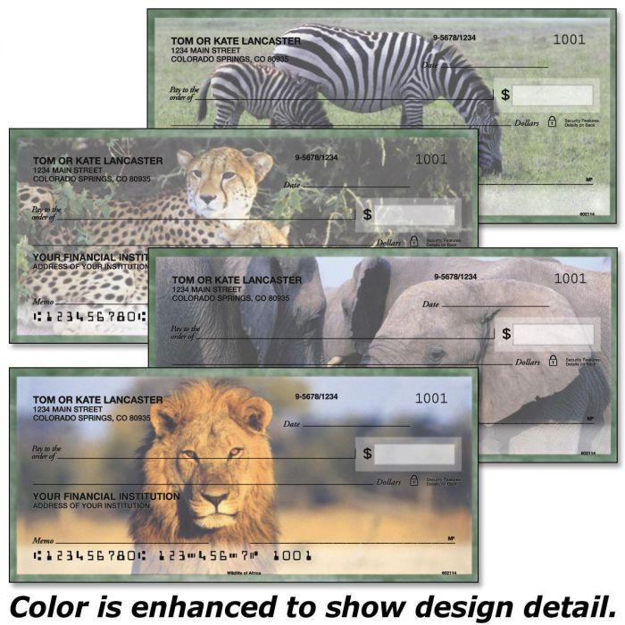 Wildlife of Africa Checks