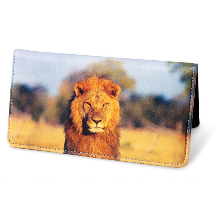 Wildlife of Africa Leather Checkbook Covers