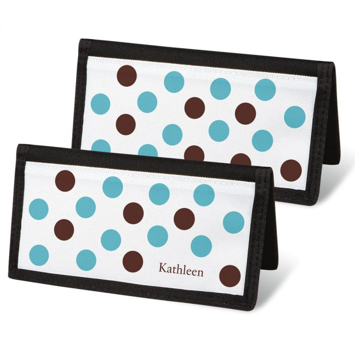 Pastel Dots Checkbook Covers