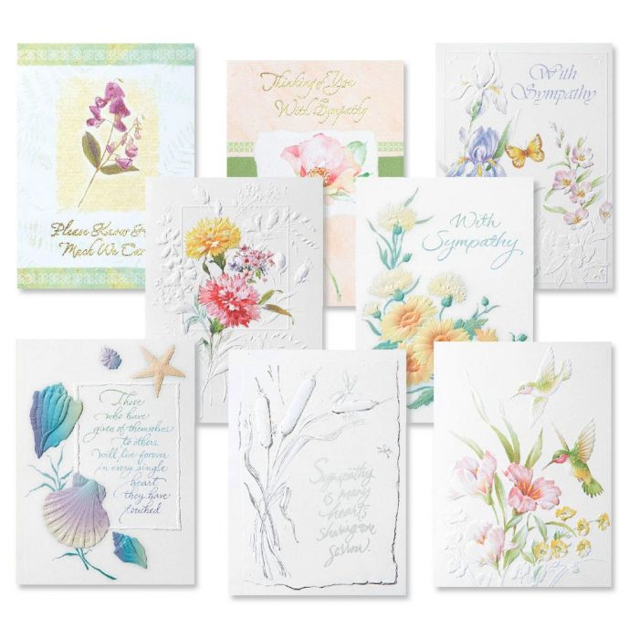 Deluxe Sympathy Cards Value Pack