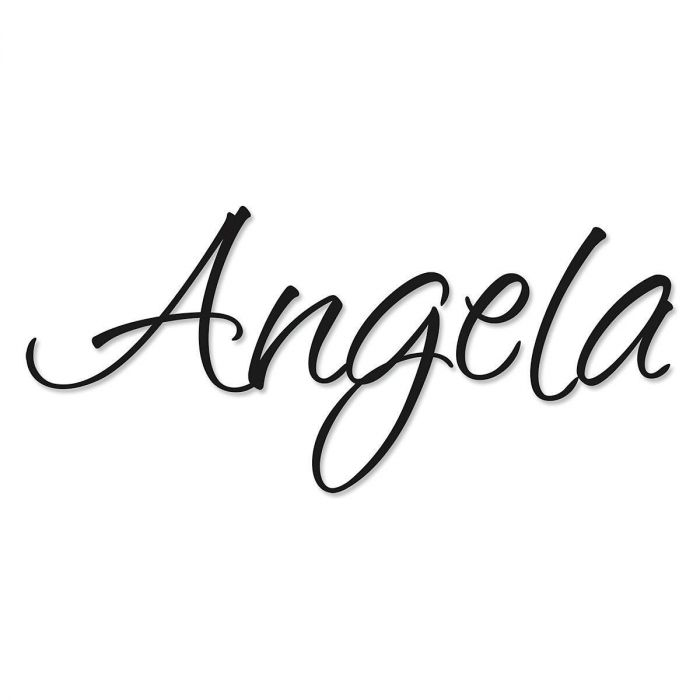 Your Name Personalized Wall Vinyl - Black Cheyenne Font