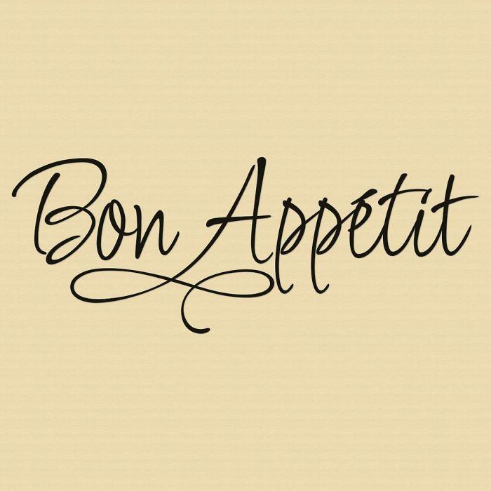 Bon Appetit Vinyl Wall Words