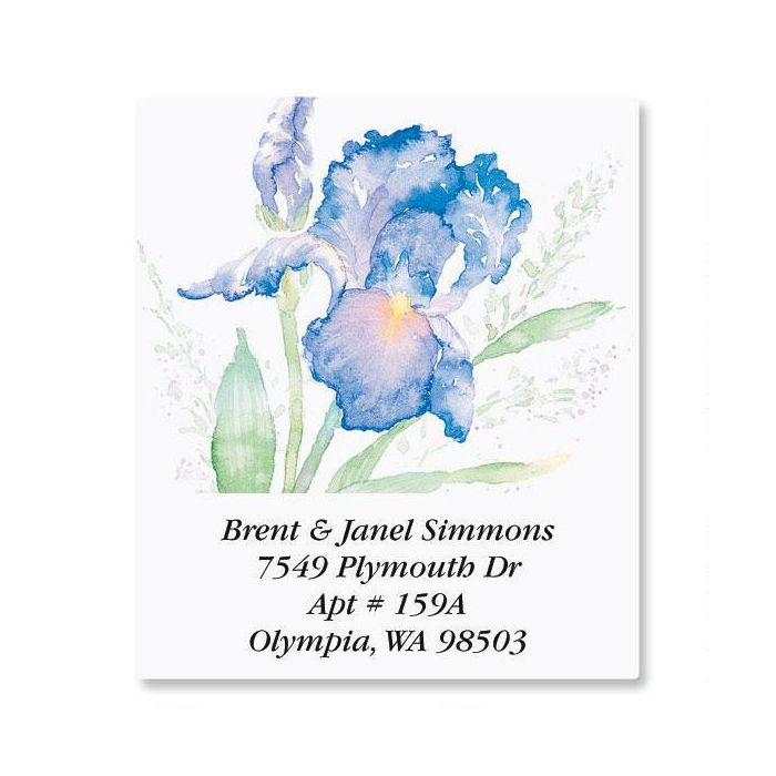 Iris Select Address Labels