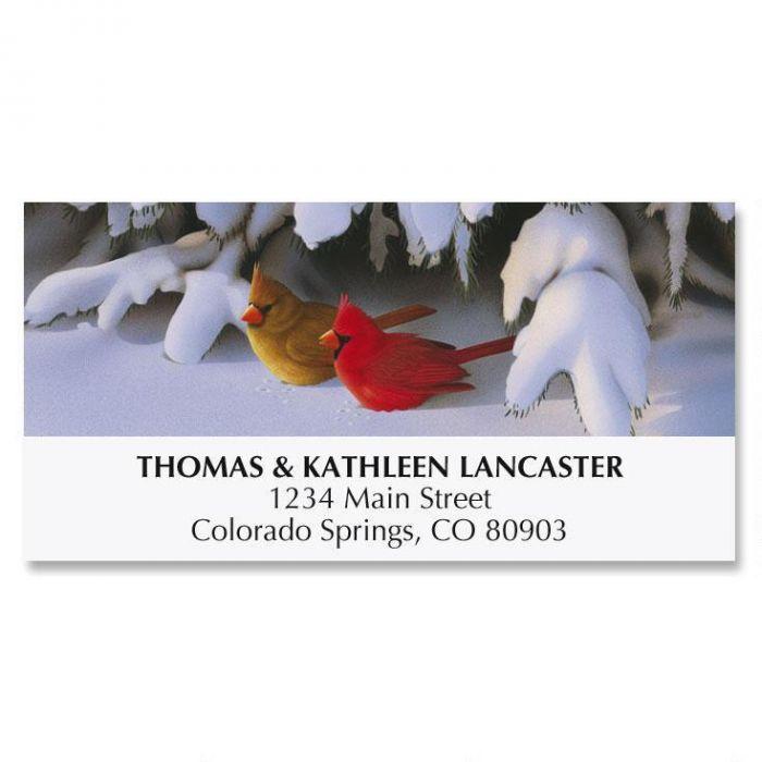 Morning Light Christmas Deluxe Address Labels