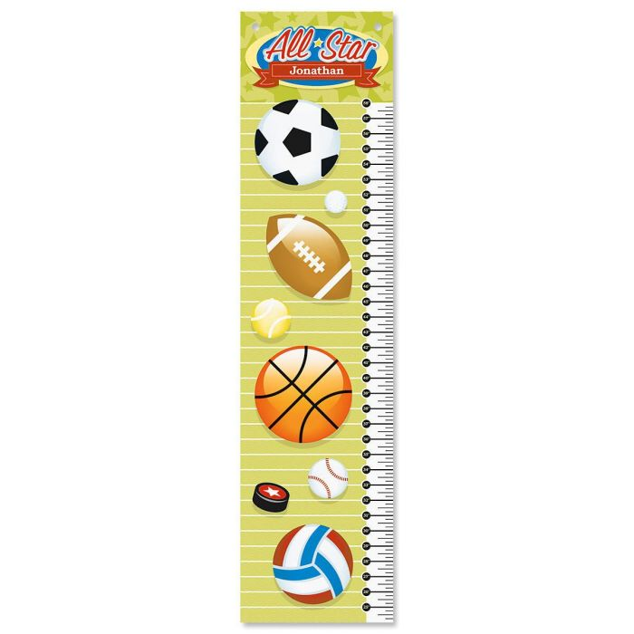 All-Star Sports Canvas Growth Chart