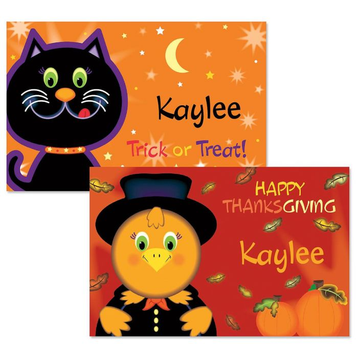 Kids' Autumn Placemats