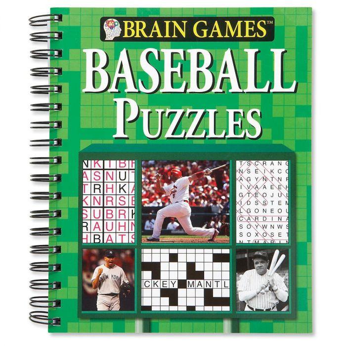 Brain Games™ Baseball Puzzles