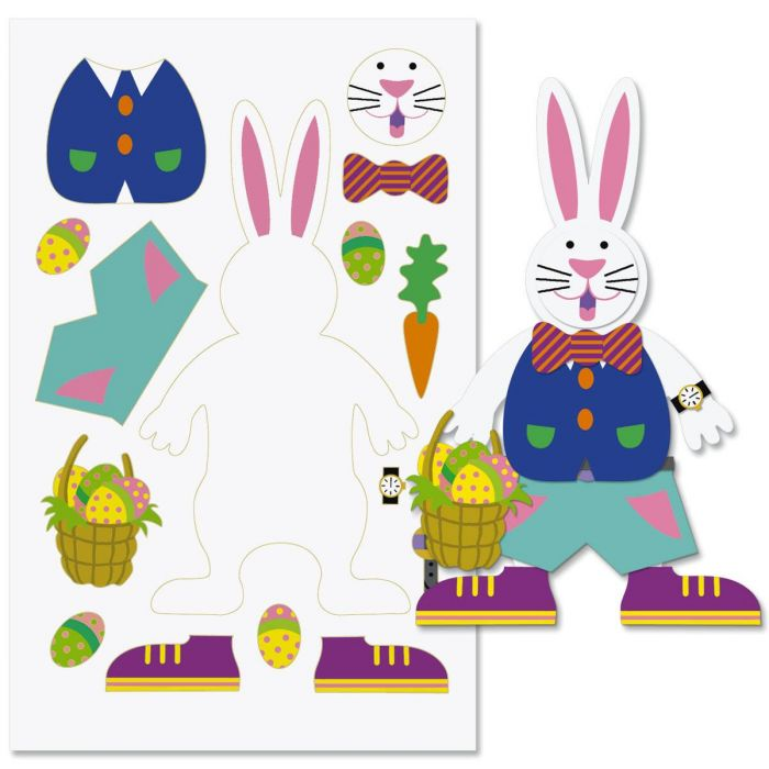 Design-Your-Own-Bunny Sticker Sheets