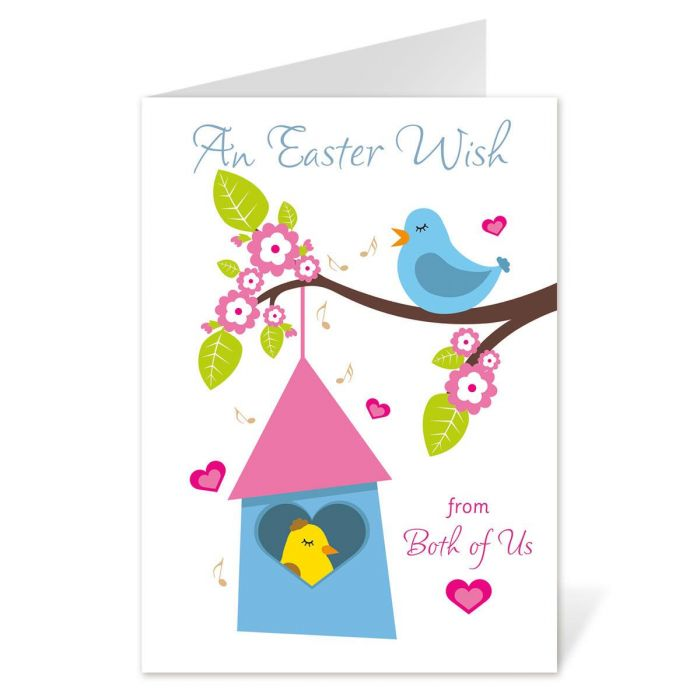 From Both Easter Card
