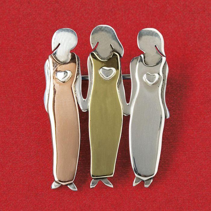 Three Sisters Pin