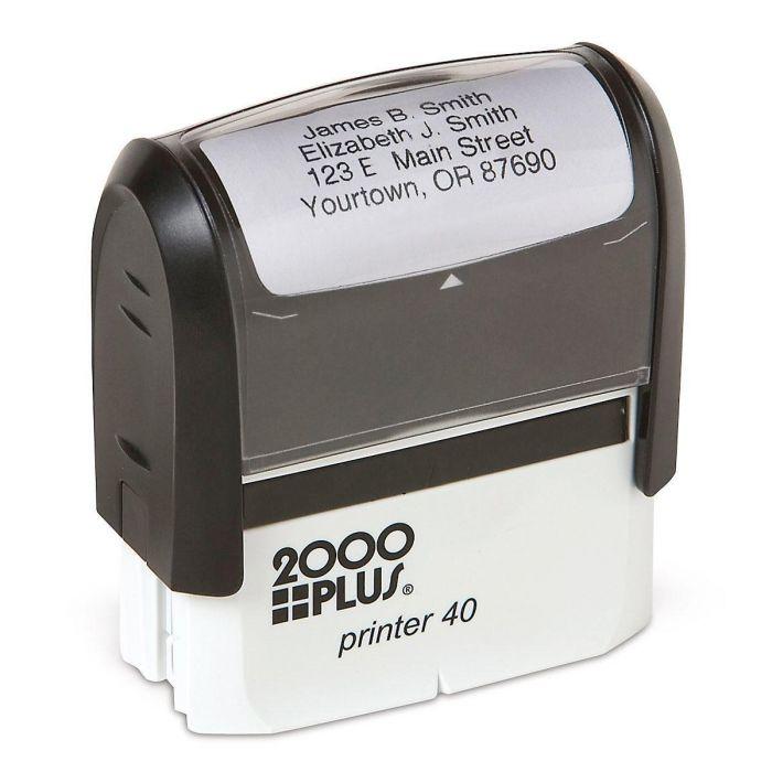 Standard Self-Inking Address Stamper