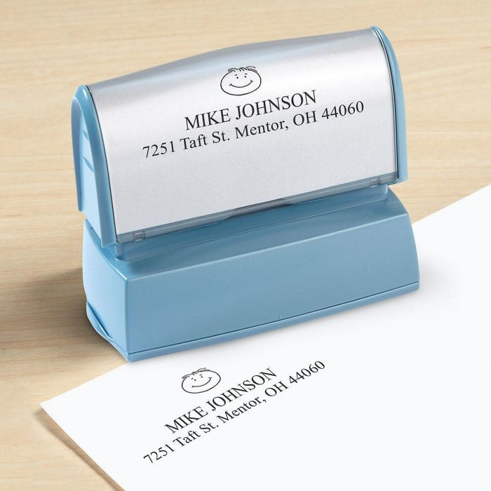 Happy Family Self-Inking Stamper