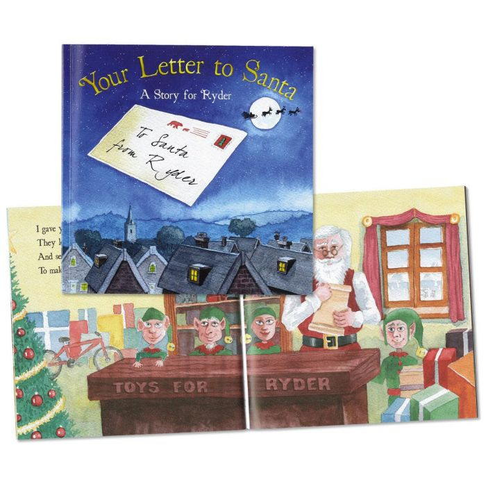 Your Letters to Santa Personalized Storybook