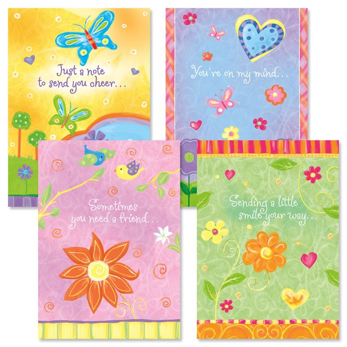 Thinking of You Faith Cards and Seals